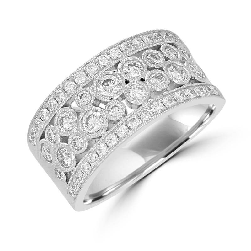 ROUND DIAMOND BAND RING