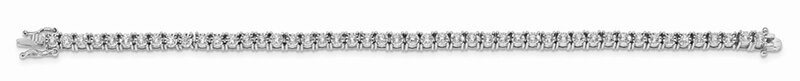 14kw Illusion Setting Lab Grown Diamond SI1/SI2; G H I; Bracelet