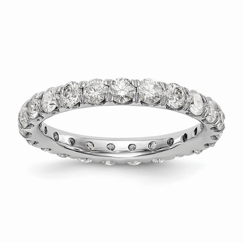 14kw Lab Grown Diamond SI1/SI2; G H I; Eternity Band